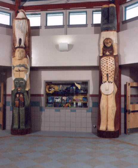 Biddeford Totems by S. Lindsay
