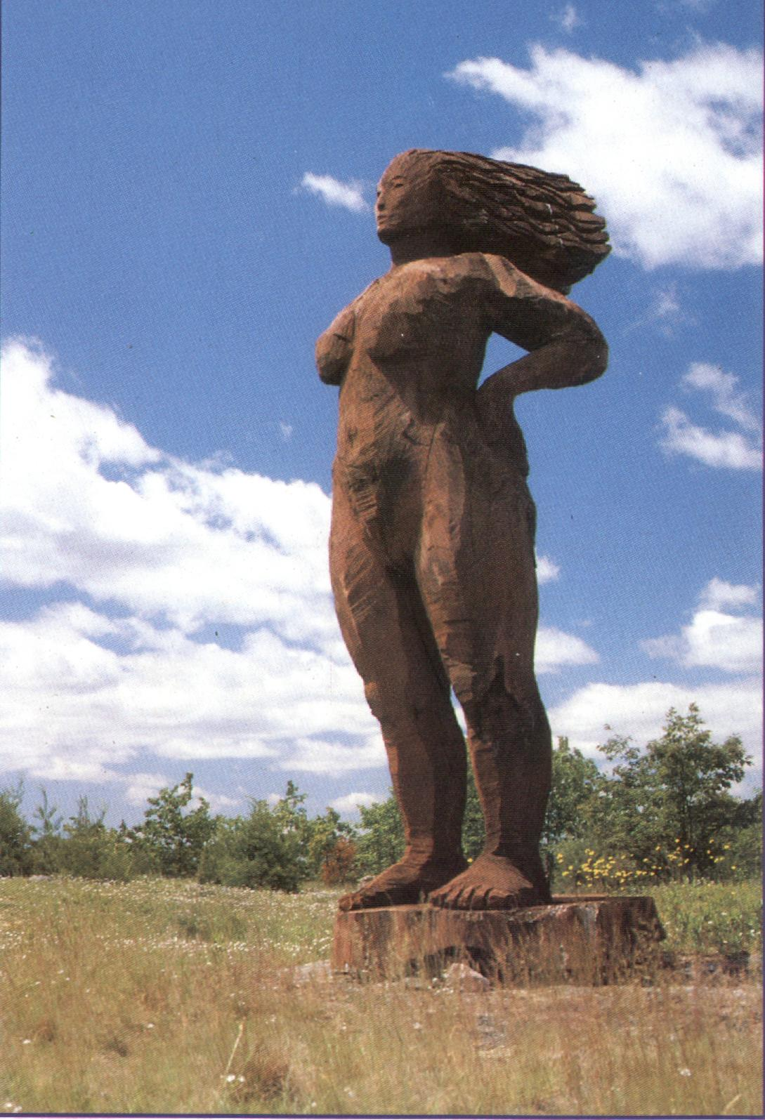 woman- sculpture by S. Lindsay